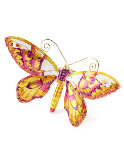 Butterfly Napkin Rings, Set of 4