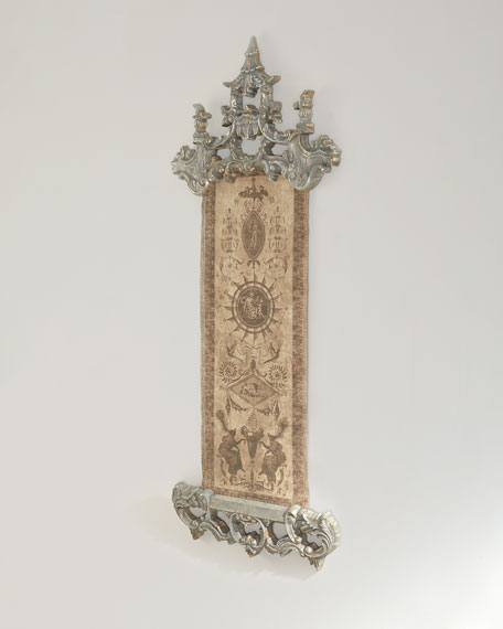 Sundial Chinoiserie Wall Decor