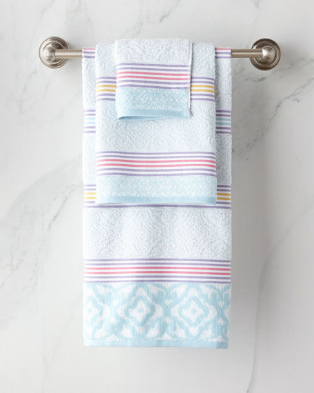 Lily Stripe Bath Towel