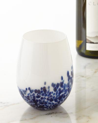 Artglass Stemless Wine Glasses, Set of 4
