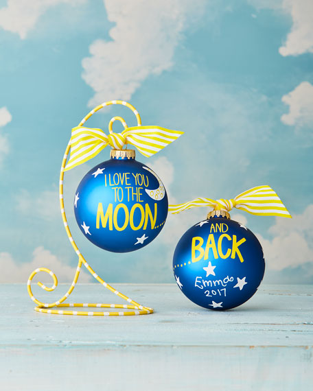 Love You To The Moon And Back Christmas Ornament