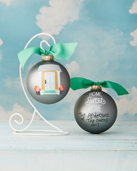 Home Sweet Home Personalized Ornament with Stand