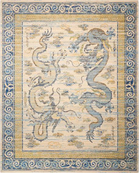 Dynasty Rug, 7.9' x 9.9'