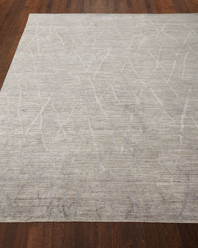 Ling Hand-Knotted Rug, 9'9