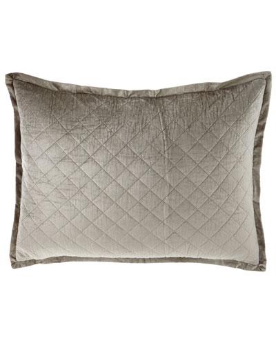 Luxe European Chloe Velvet Pillow, 27