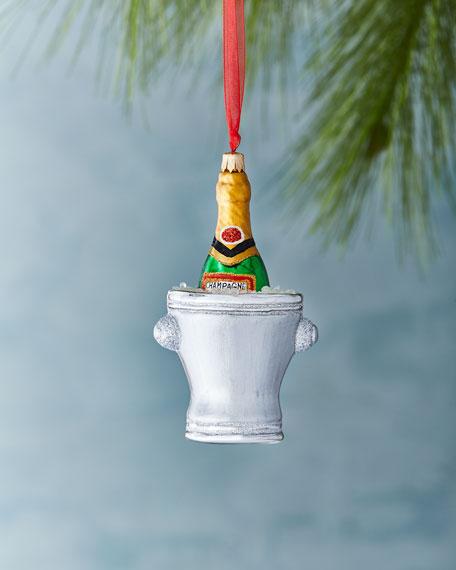 2018 Champagne Bucket Ornament
