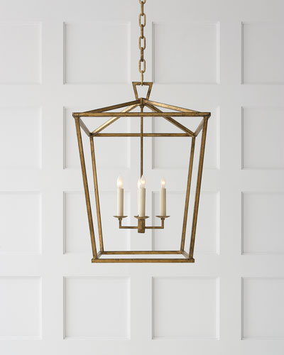 darlana medium lantern quick look visual comfort