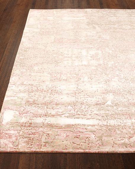 Jubilee Rug, Petal Pink, 6' x 9'
