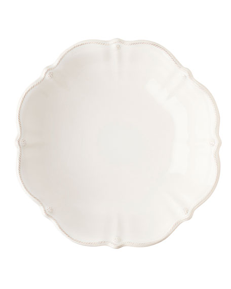 Berry & Thread Whitewash Serving Bowl, 13""