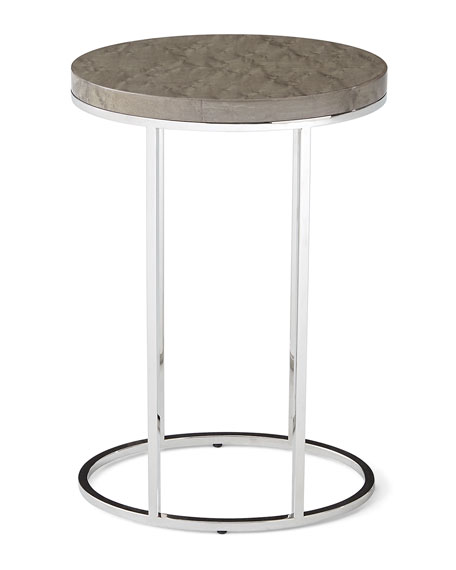 Letitia Oval Side Table