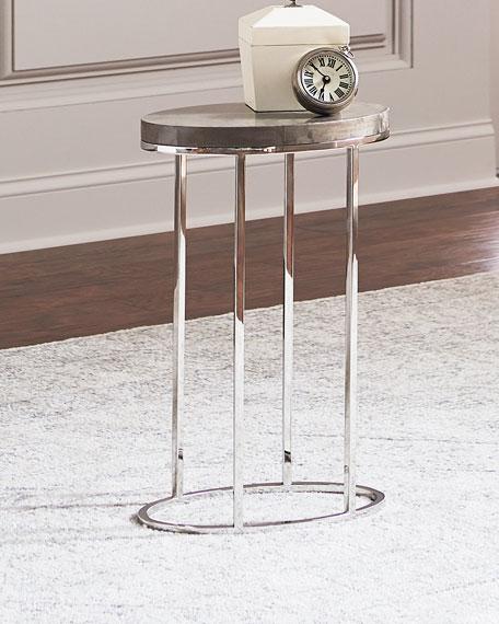 Letitia Oval Side Table