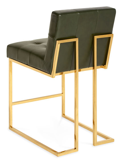 Goldfinger Counter Stool, Olive