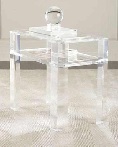 Landis Acrylic Side Table