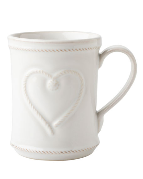 Berry & Thread Whitewash Cup Full of Love