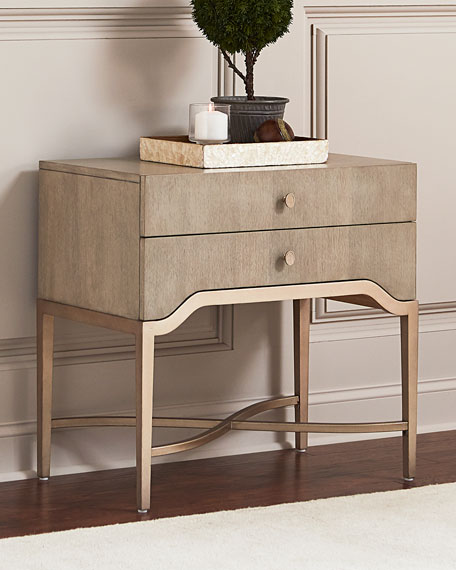 sabeen twodrawer nightstand