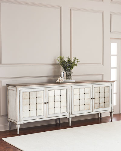 Lakin Eglomise Entertainment Console