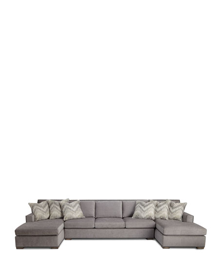 Raphael Double Chaise Sectional
