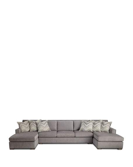 Raphael Double Chaise Sectional  sc 1 st  Horchow : double chaise sectional - Sectionals, Sofas & Couches
