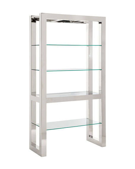 Whalen Stainless Etagere