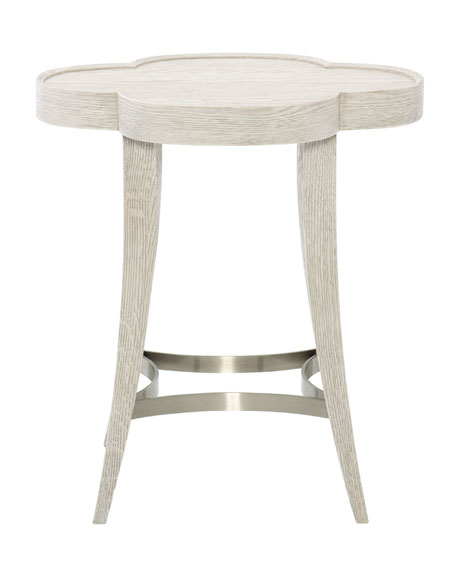 Bernhardt Damonica Oak Side Table