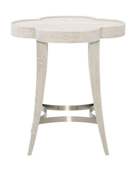 Bernhardt Damonica Oak Side Table