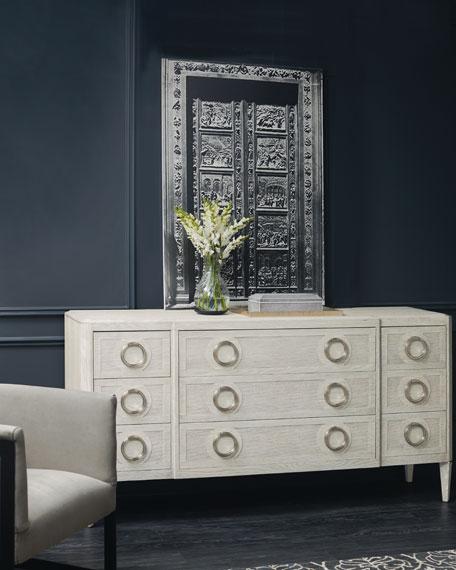 Damonica Oak Dresser
