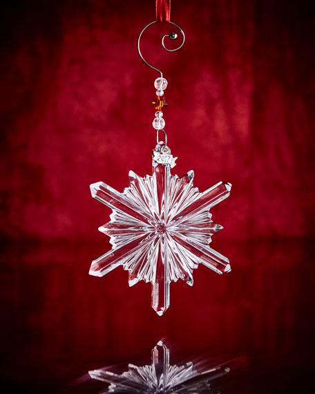 Annual Snowstar Ornament