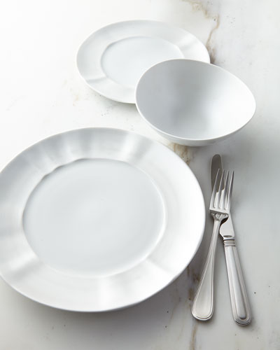 12-Piece By-Hand Pearl Dinnerware Service & Designer Dinnerware Sets at Horchow