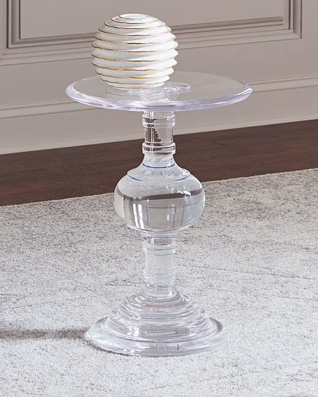 Andrea Acrylic Side Table