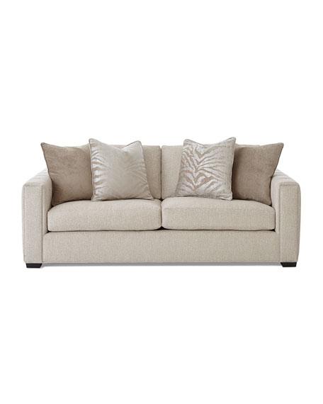 Bon Tamsin Channel Tufted Sofa