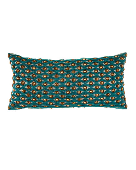 Patra Applique & Beadwork Pillow