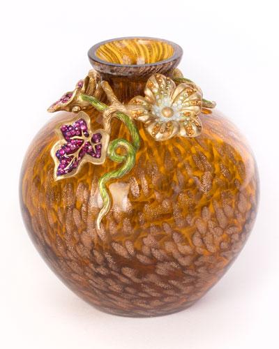 Leaf & Flower Mini Vase