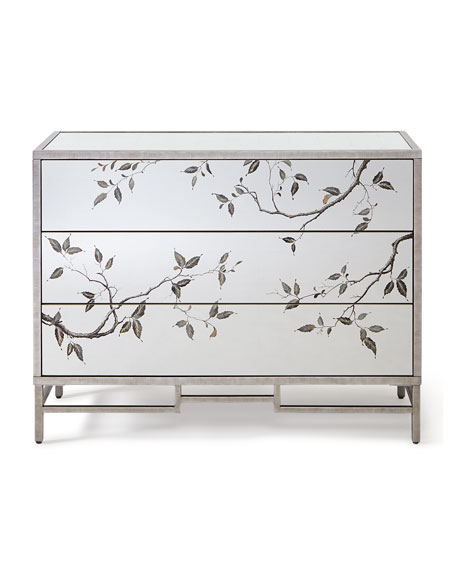Framura Eglomise Three-Drawer Chest