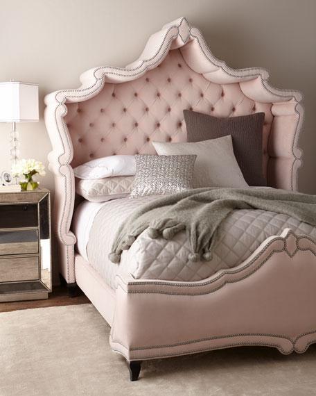 Blush Antoinette King Bed