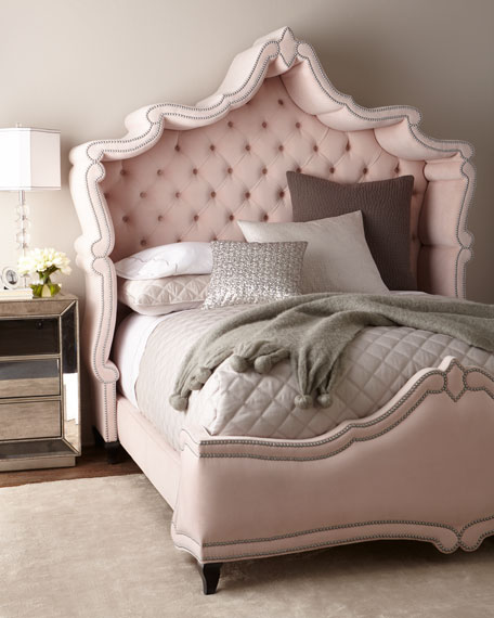 Blush Antoinette California King Bed
