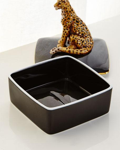 Leopard Porcelain Box