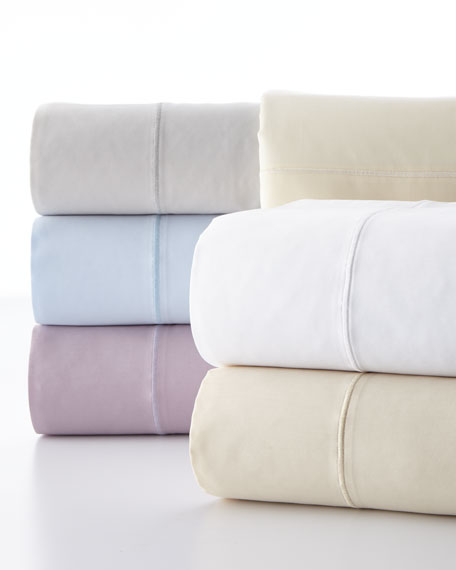 King Classic Solid 310 Thread Count Sheet Set