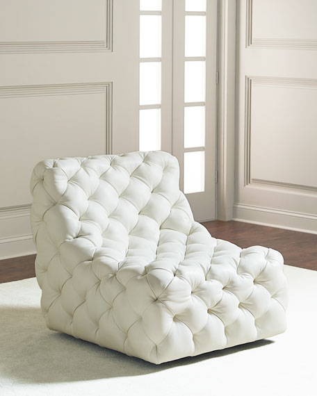 Dunaway Tufted Swivel Chair