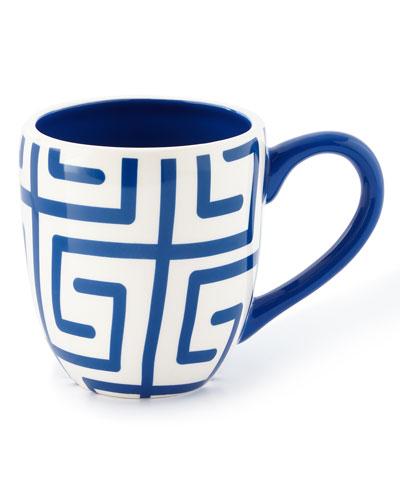 Fret Mugs, Set of 4