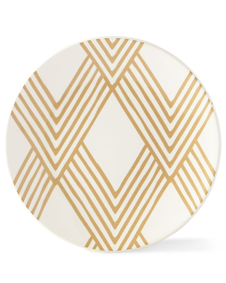 Coton Colors Woven Cobble Salad Plates, Set of