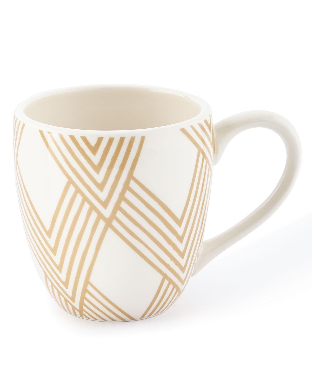 Coton Colorswoven Cobble Mugs Set Of 4