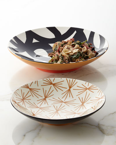 Loop de Loo Starburst Mix Pasta Bowls, Set of 2
