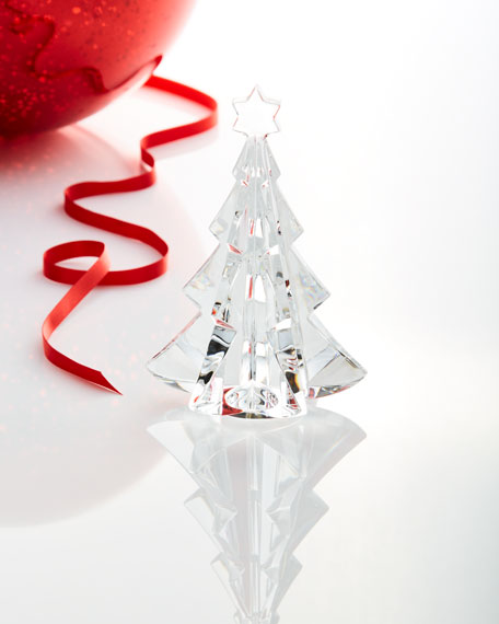 noel meribel crystal fir tree collectible clear - Crystal Christmas Tree