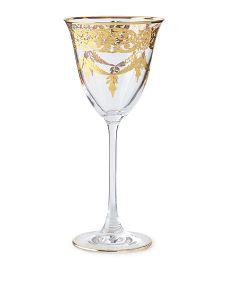 Neiman Marcus Wine Goblets, Set of 4