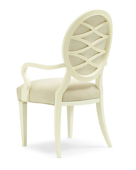 Pair of Taste-Full Dining Arm Chairs