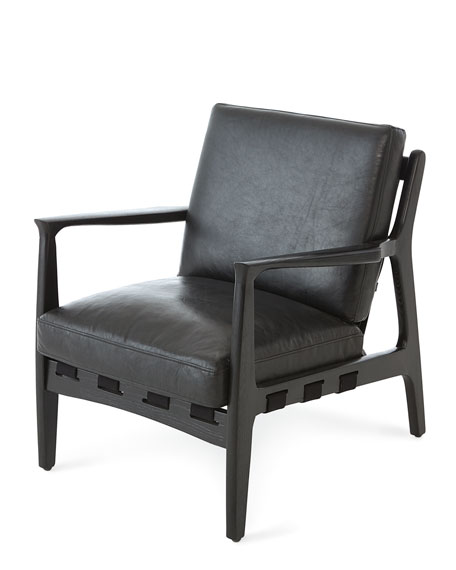Emeril Leather Accent Chair