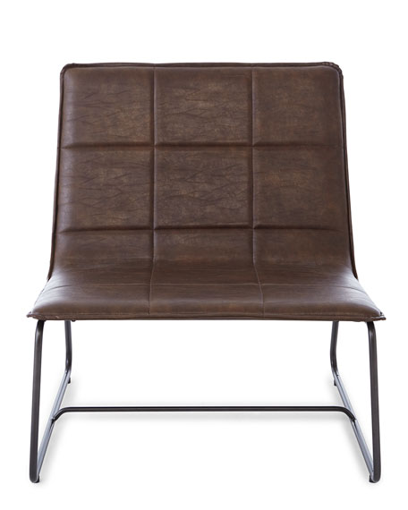Lawson Faux-Leather Lounge Chair