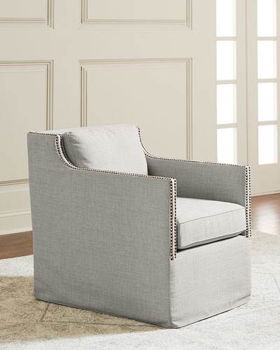 Bernak Swivel Accent Chair