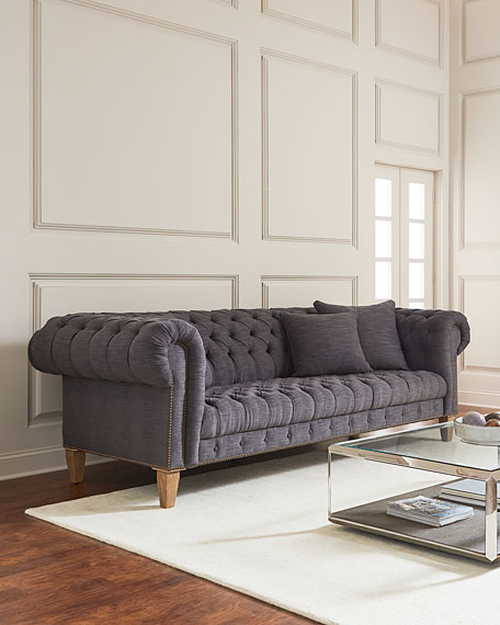 Capricia Tufted Chesterfield Sofa