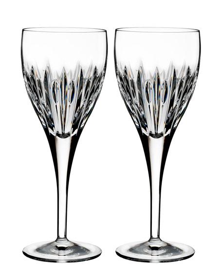 Mara Crystal Wine Glasses, Set of Two